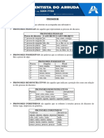 PRONOME - ADVENTISTA - Mª CLARA
