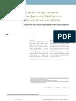 As resinas compostas como complemento à Ortodontia na obtenção de sorrisos naturais