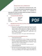 DESCRIPCION TECNICA INTERVENCION1