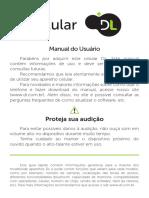 manual do celular dl
