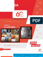 Verano César Vallejo Semana 01- Historia