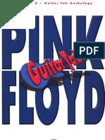 Pink Floyd - Guitar Anthology - Guitar Tablature Book