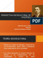 PERSPECTIVA SOCIOCULTURAL DE VYGOTSKY