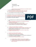 Examen de Révision Med 1