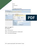 Anotações ABAP4