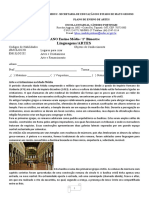 Artes 2° Ano EM   1 bimestre 2021 (1) (3)