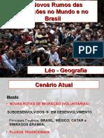 Migrações No Mundo e No Brasil