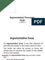 ArgPer Essay