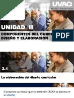 Componentes Del Curriculum, Diseño y Elaboracion