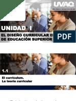 El Diseño Curriular en El Nivel Superior en Mexico