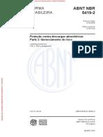 NBR 5419-2 Gerenciamento de Risco
