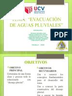 Evacuacion de Aguas Pluviales