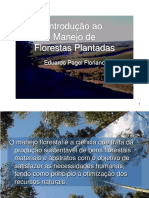 Introdução ao Manejo de Florestas Plantadas