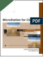 MicroStation for Civil XM TOC