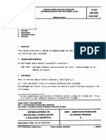 Abnt - Nbr 9765 - Resinas Fenolicas para Fundicao - Determinacao do Teor de Formol Livre