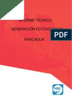 Informe Técnico GFV Rancagua