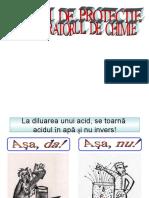 MASURI DE PROTECTIE IN LABORATORUL DE CHIMIE