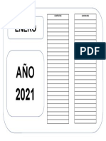 Carátula de Caja de Files de Contratos