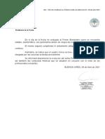 Parte médico Alberto Fernández 4 de abril