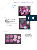 Fancy Flower Tutorial Stampin' Up