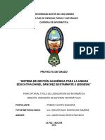 Sistema de Gestion Academica