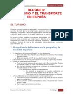 Bloque 9. Turismo y Transporte