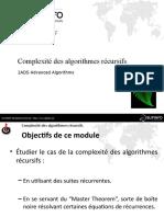 02 - Complexité des algorithmes récursifs