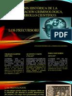 Síntesis histórica de la investigación, desarrollo científico