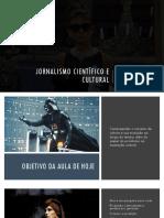 Jornalismo Científico e Cultural - Aula 02 - O Conceito de cultura