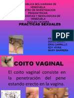 PRACTICAS SEXUALES