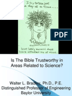 Is the Bible Trustworthy in Areas Related to Science? by Walter Bradley