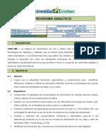 COM365 PA Transmisión Voz y Datos (2014)