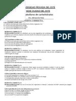 AUTOEVALUACIÓN DE REPASO UNIDAD 8