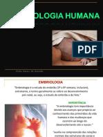Embriologia - introdução