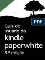Guia Do Usuario Do Kindle Paperwhite - Amazon