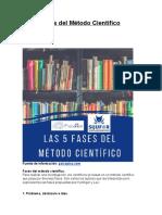 Las 5 Fases del Método Científico