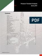 Pressure Transient Analysis - Houston University