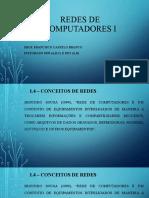 Redes de Computadores i - Unidade 1 - Introdução