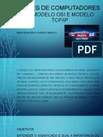 REDES DE COMPUTADORES I - Unidade 4 Modelo TCPIP