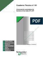CT-161 Conmutación Automática de Fuentes en Las Redes at y BT