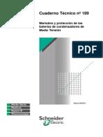 CT-189 Maniobra y Proteccion de Las Baterias de Condensadores