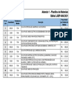 Adendo 1 - Planilha de Materiais (1)