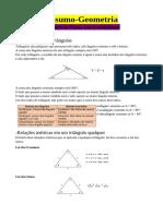 resumo geometria