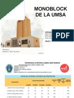 Monoblock UMSA