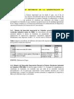 ANTECEDENTES HISTÓRICOS DE LA ADMINISTRACIÓN EN COLOMBIA