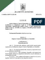 Legea electorala,Romania