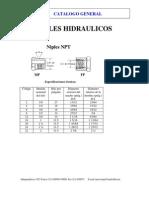Catalogo de Niples Hidraulicos