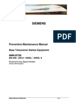 Preventive Maintenance Manual_Siemens BTS