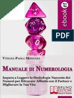 (eBook) Manuale Di Numerologia (Relazioni, Tempo-Libero)