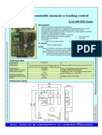 Lld300m82 Programable Moment or Loading Control